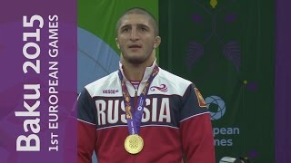 Sadulaev technically outclasses his opponent to win Gold | Wrestling | Baku 2015 European Games
