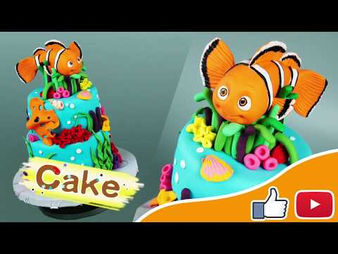 Easy To Make Finding Nemo Cake - Dory Cake | Step By Step Tutorial