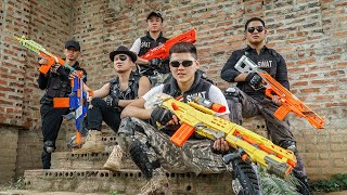 LTT Game Nerf War : SQUAD Warriors SEAL X Nerf Guns Fight Braum Crazy Destroy Deal