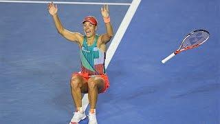 Match point: The moment Angelique Kerber won the Aus Open | Australian Open 2016
