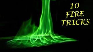 TOP 10 BEST Fire Tricks
