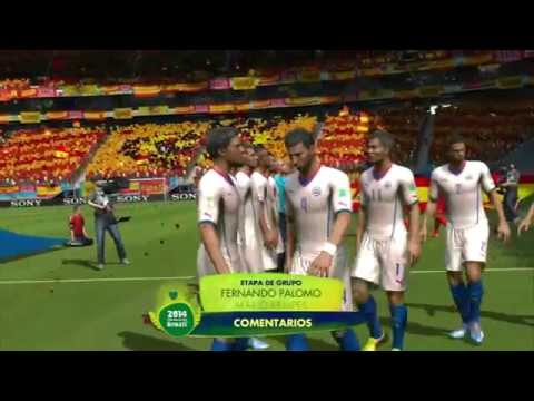 Fifa World Cup 2014 Chile España
