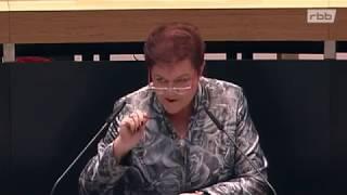 Ines Schmidt zur Parität in Parlamenten