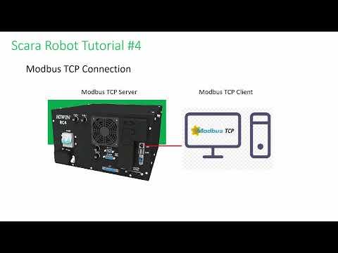 HIWIN Scara Robot Tutorial 4 – Modbus Command