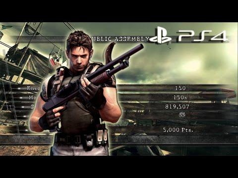 Public Assembly Solo 819k Chris BSAA | Resident Evil 5 PS4 Mercenaries United