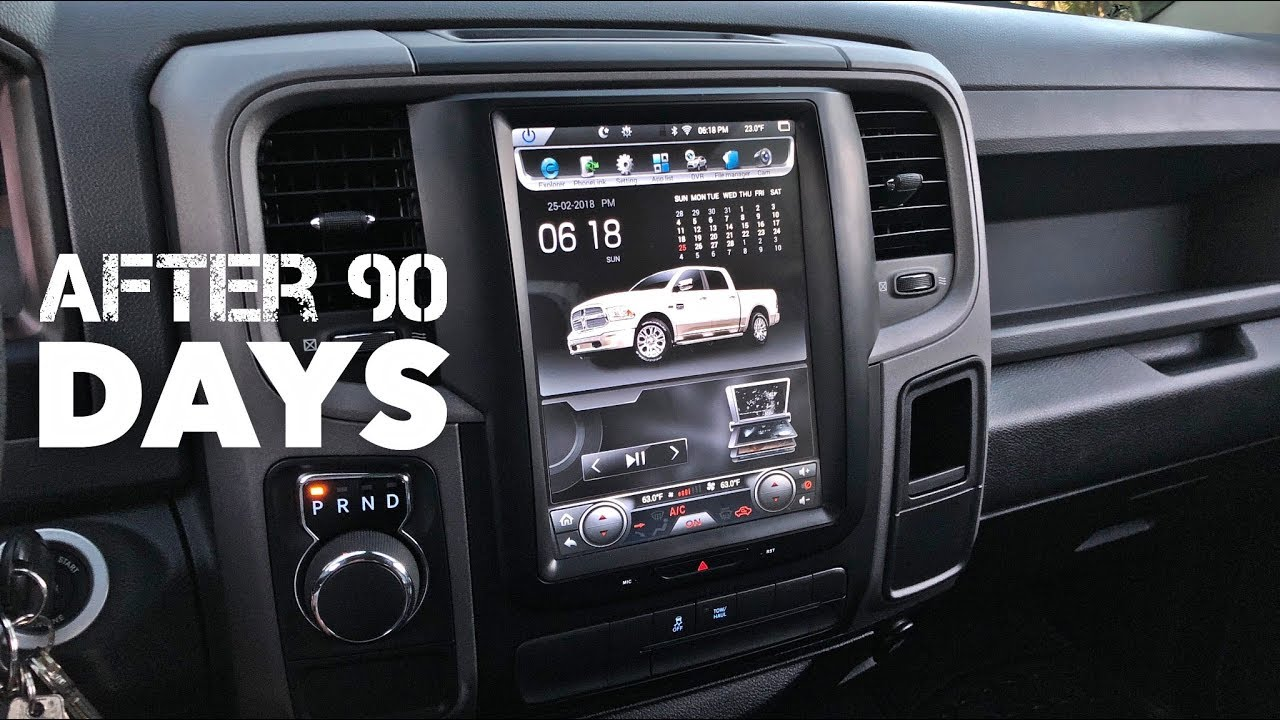 Tesla Style Radio Update After 90 Days Ram 1500 14 17 Clipzui Com