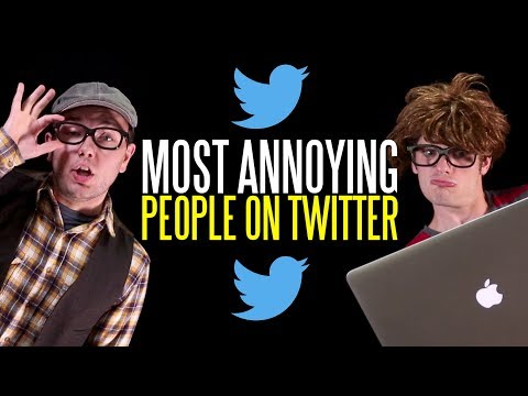 The Ten Most Annoying People on Twitter