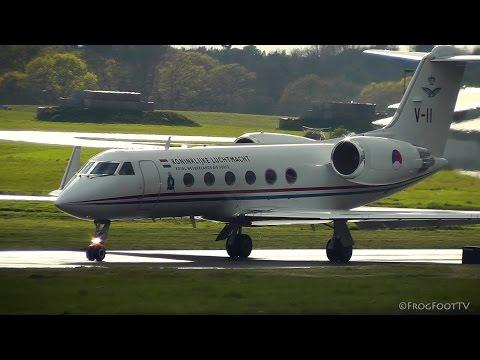 RNLAF - Gulfstream IV (V-11) at RAF Northolt London