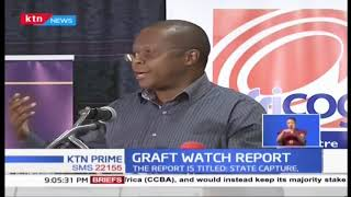 Graft watch report says Kenya is unable to fight graft