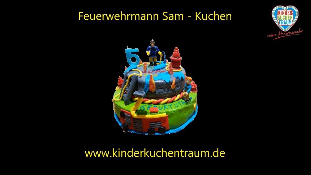 Feuerwehrmann Sam Kuchen Fireman Sam Cake Youtube