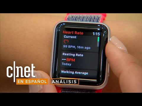 Apple Watch Series 3: Así luce el nuevo reloj inteligente de Apple