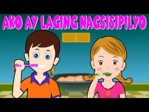 Ako Ay Laging Nagsisipilyo   Awiting Pambata 2018   Nursery Rhymes Tagalog