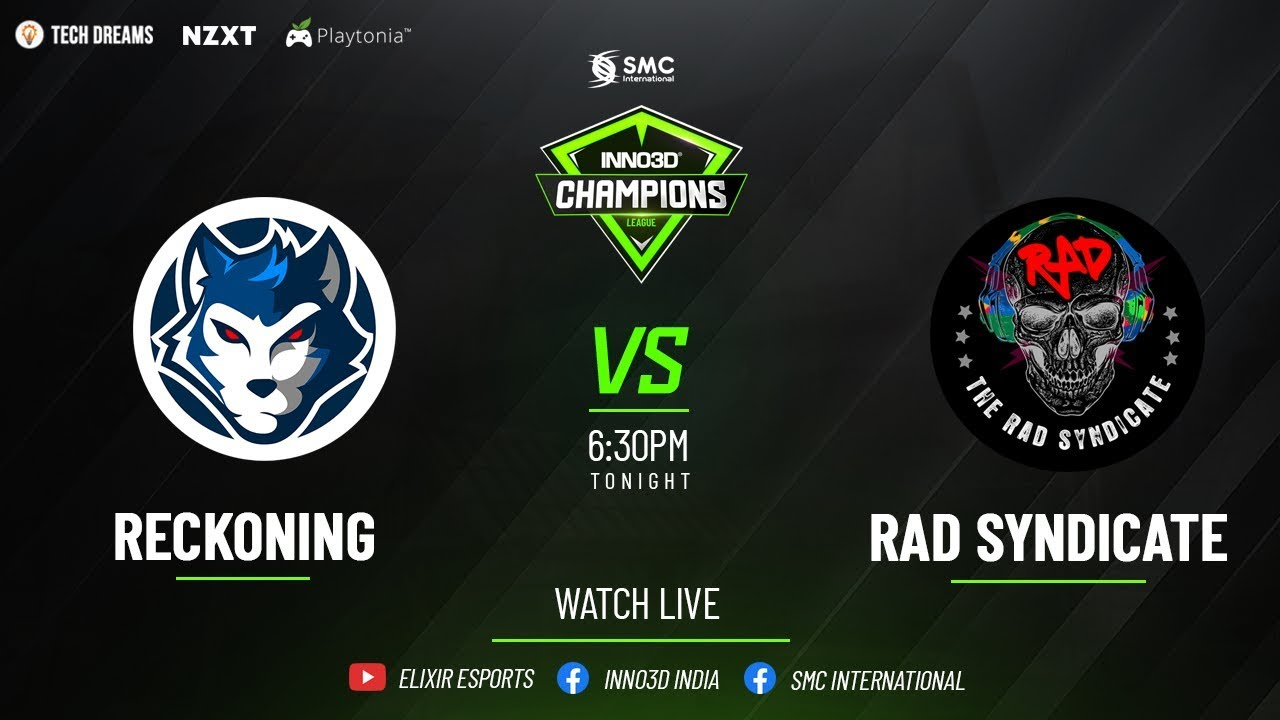 ReckoninG eSports  v/s TheRADSyndicate | INNO3D Champions League | Closed Playoffs | Day 11