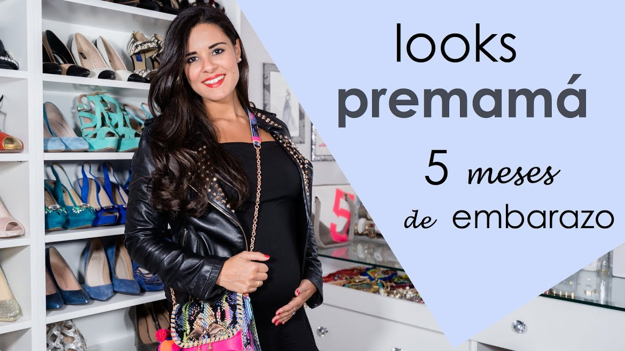 3b8e1f5b1 Looks premamá - Embarazada de 5 meses - YouTube