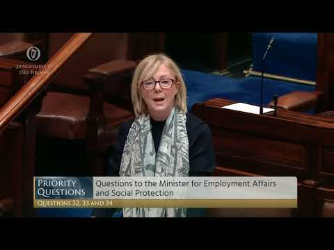 Catherine Connolly questions the Minister for Social Protection on Maintenance payments