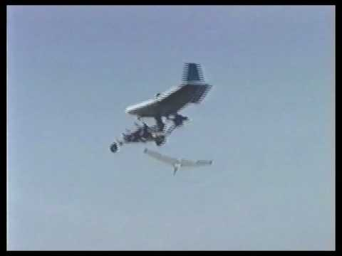 Jet Engine On Ultralight - Mitchell Wing B-10 JFS100