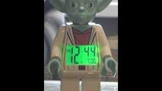 Обзор Lego Yoda Minifigure Clock (Йода-цифровой будильник)
