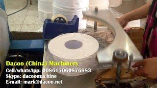 Jumbo Roll Tissue Packing Machine ( Sealer + Shrink Machine )