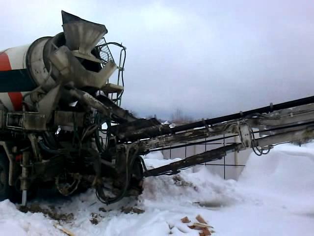 Автобетоносмеситель с конвейером транспортер т3 ремонт кпп