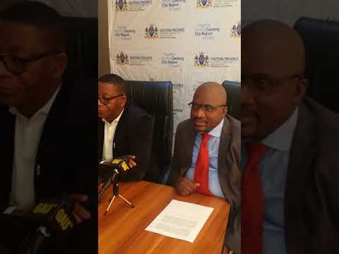 Rand West Municipality Mayor, Mzi Khumalo disappointed at protested