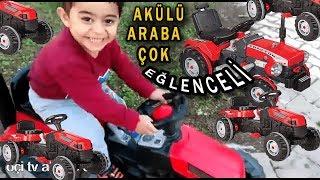 battery powered toy середови | батарея автомобіля | kids Fun videos | парк буксирування автомобіля ми - діти весело
