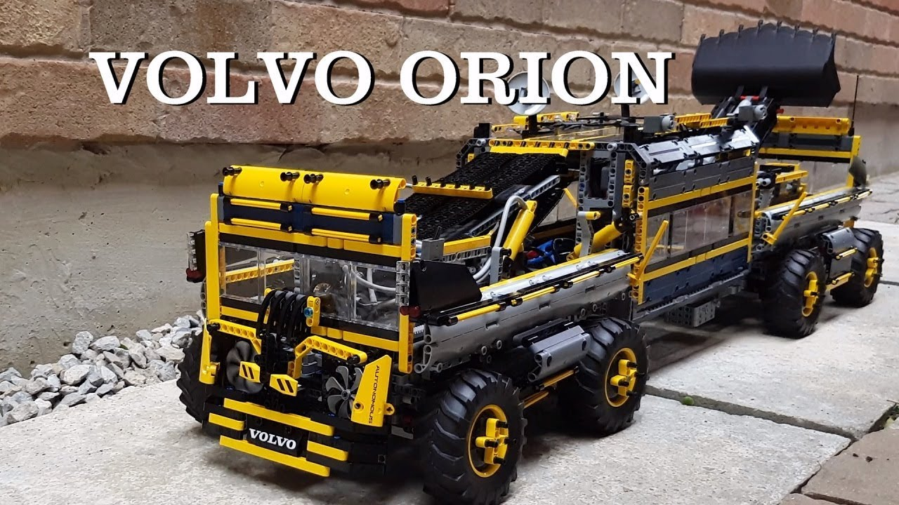 volvo orion lego technic youtube. Black Bedroom Furniture Sets. Home Design Ideas