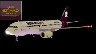 Etihad Airways flight - First Class - ROBLOX
