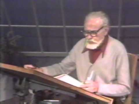 Lloyd Reynolds' Italic Calligraphy & Handwriting Episode 4