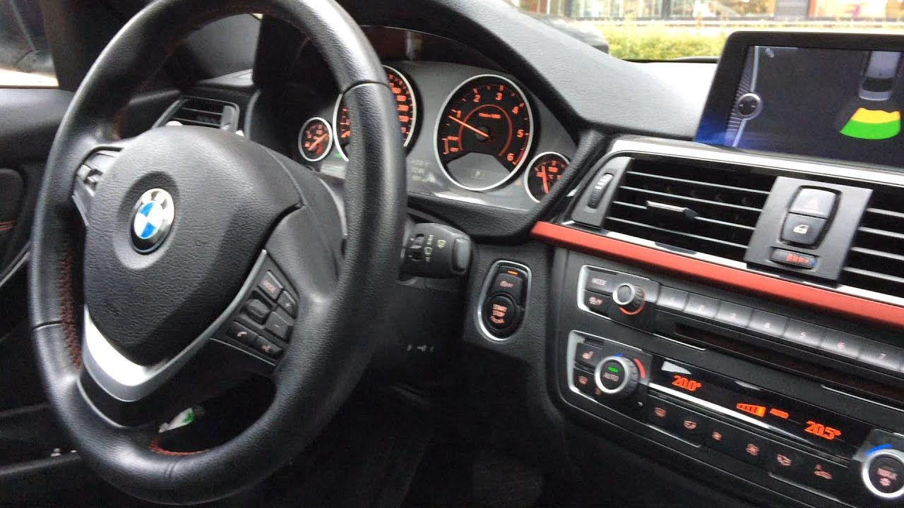 Bmw F30 Interior Youtube