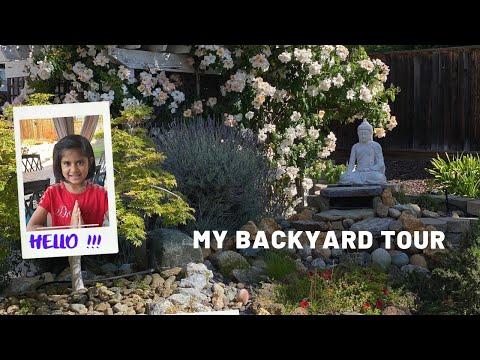 #Vlog   Deetya   My Backyard Tour   USA