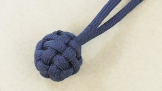 How To Make A Paracord Globe Knot