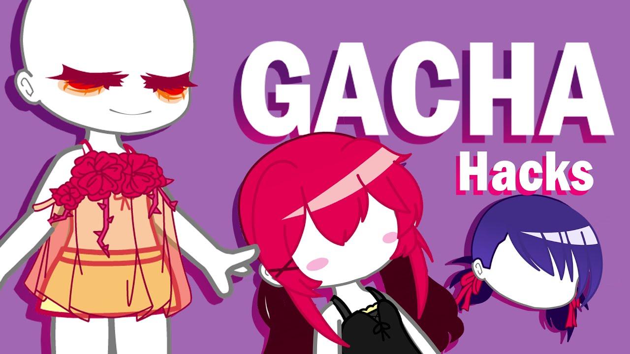 Download 8 Unpopular Gacha Club Hacks ✨II Bows,Cute bear ears, cute tops, lips and more!