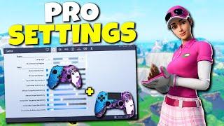 PRO Fortnite Controller Settings For Xbox & PS4! Best Sensitivity & Custom Binds