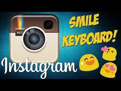 Смайлы в Instagram!
