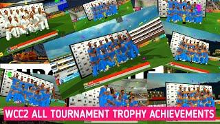 Wcc2 All Tournament Trophy Achievements