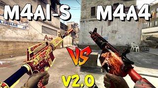 M4A4 vs M4A1-S? KTÓRA WERSJA M4 JEST LEPSZA? v 2.0 | CS:GO - Poradnik