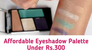 Wet n Wild Eyeshadow Palette under Rs. 300 -  Review and Swatches - Style Vision
