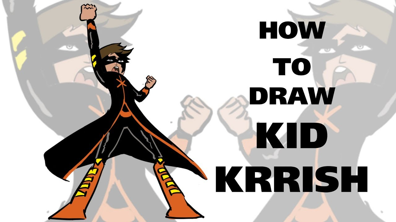 How To Draw Kid Krrish