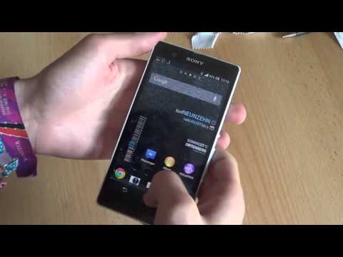 Sony Xperia Z - how to reset