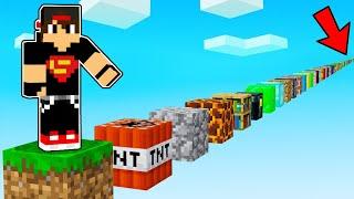 ماين كرافت : القفز على جميع بلوكات ماينكرافت   Minecraft !! screenshot 5