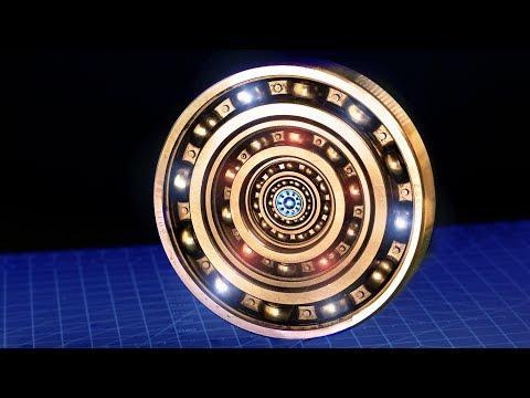 Record Broken Spinning time - World Longest Spinning Home Made Fidget Spinner
