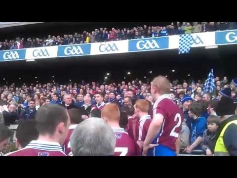 Naomh Pádraig, Clonbur - 2011 All-Ireland Junior Club Football Champions, presentation of trophy