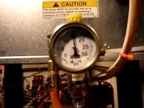 Lanair Heater First Operation Youtube