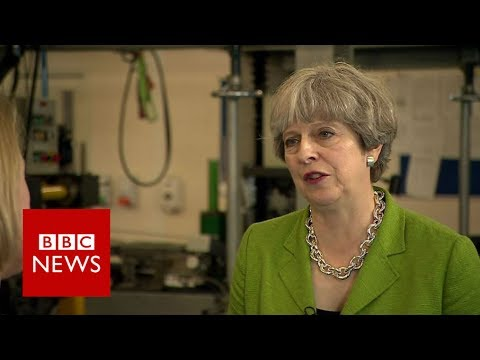 Theresa May: I'm being open on social care cap - BBC News