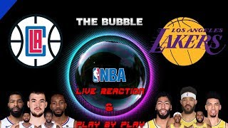 NBA Live Stream: Los Angeles Clippers Vs Los Angeles Lakers (Live Reactions & Play By Play)
