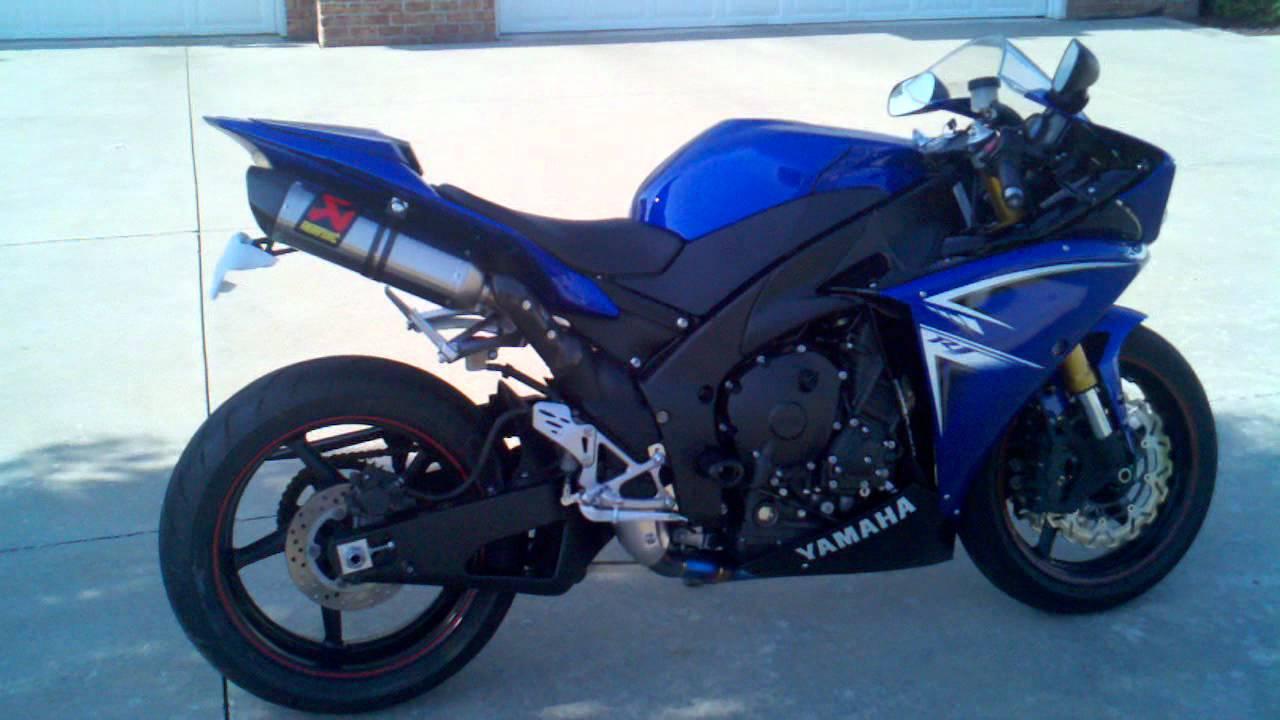 2009 yamaha r1 full akrapovic evo