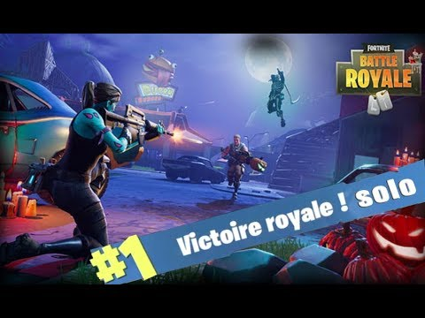 Fortnite: ENFIN un TOP 1 en solo ?!