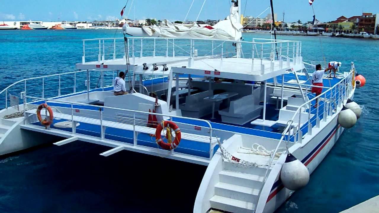 Catamaran Cozumel Groups Weddings Celebrations Youtube