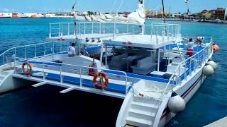 Catamaran Cozumel groups weddings celebrations