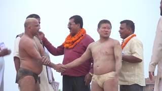 Basant tapa/Nepal V/S Rajastan india  /बसन्त थापा कि मजेदार कुस्ती